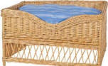 Wicker Pet Bed - Available InTwo Sizes