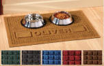 personalized Pet Dining Mat
