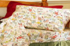 Cat linens fannel sheet set