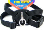 Size Right Nylon Adjustable Cat Harness - 3/8