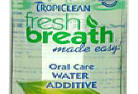 TropiClean Fresh Breath Oral Care Water Additive cat dental