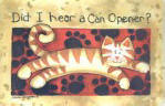 Did I Hear a Can Opener? Cat door mats