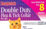 Sergeant's Double Duty Flea and Tick Collar for Cats