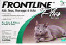 Frontline Plus, Cats, 3 Tubes